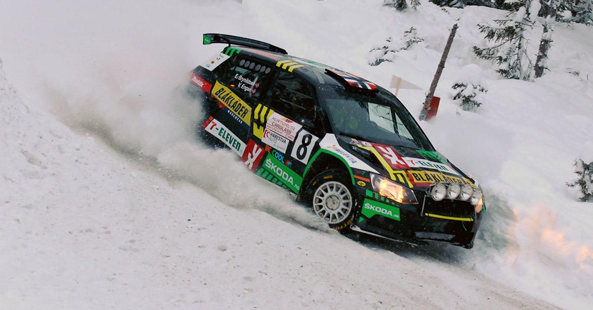 2. nm runde Rally Hadeland - Eyvind Brynildsen