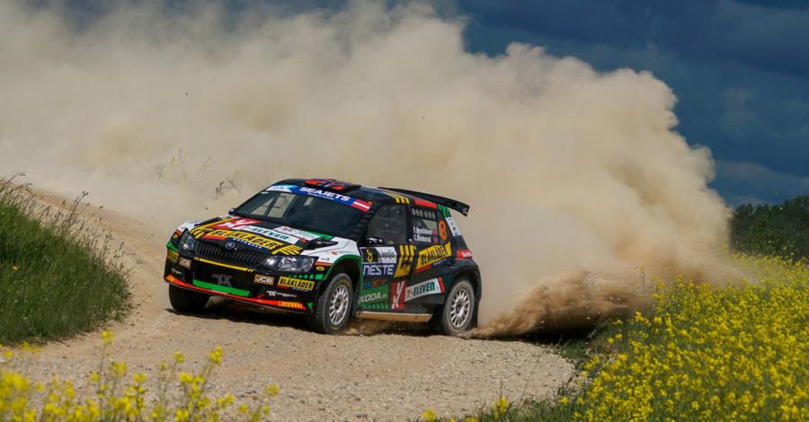 Rask, men uheldig i Rally Latvia - Eyvind Brynildsen