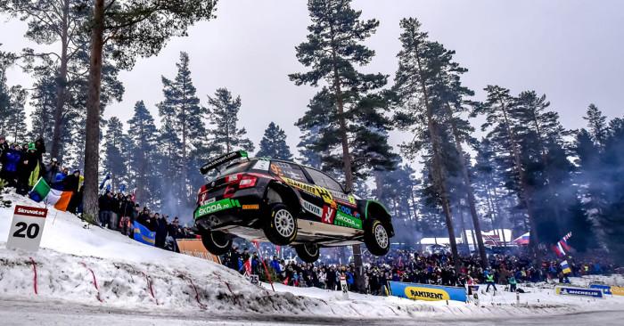 Eyvind har fortsatt rekorden i Rally Sweden